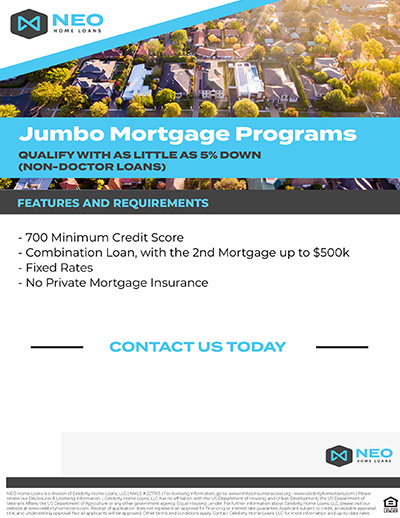 Jumbo Mortgage Programs
